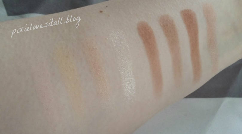 elf contour kit swatches. overall, i really love this palette and i\u0027ve used it every time put on makeup since got it! to use the elf contour kit frequently, swatches